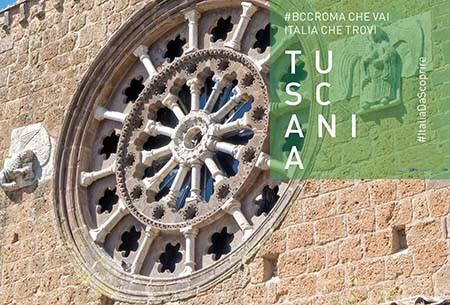 Tuscania, tra archeologia e cinema