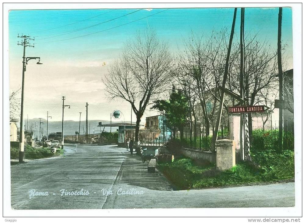 Immagine Borgata Finocchio a Roma, ne 1959