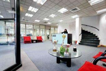 Immagine reception azienda Carlucci